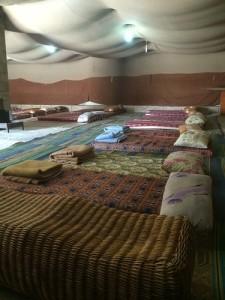 אוהל אירוח בדריג'את - כזה מתוקתק לא מוצאים בכל מקום - מוקטן