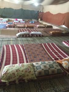 אוהל אירוח בדריג'את