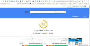 """אתר אמזון מלכת העולם """"רק"""" 75% במחשב שולחני / מחשב נייד תוצאה: מעולה"""